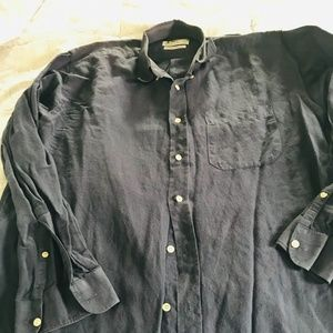 Men's/boys button down shirt Marks and Spencer
